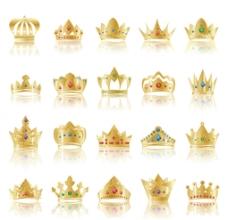 金色皇冠样式图片