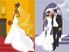 商业婚礼插画