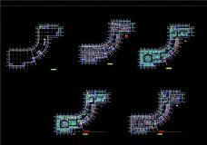 KTV平面图施工图CAD图纸