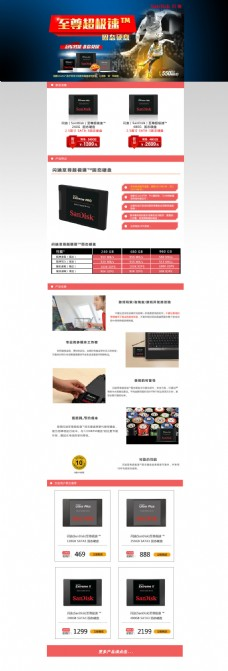 电子产品促销海报