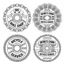 圆形手牌自行车徽章包