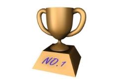 金杯奖杯3d模型奖杯