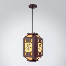 茶字中式吊灯3d模型