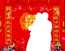 结婚   背景图片