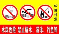 禁止牌图片