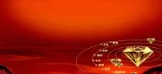 红色背景图图片