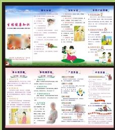 生殖健康知识  四折页图片