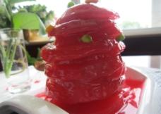 番茄红酒雪梨秀图片