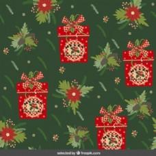 丰富多彩的圣诞背景