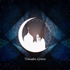 艺术伊斯兰教背景设计