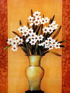 美丽鲜花装饰画