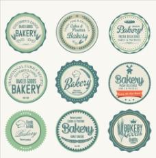 面包甜品标签图片
