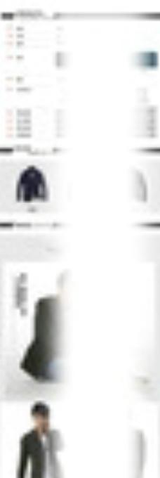 淘宝男装夹克详情页模板图片