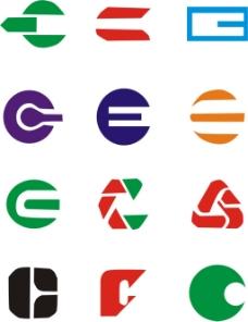 C字母LOGO设计素材