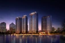建筑夜景图片