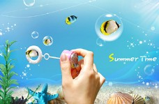 海底世界PSD素材