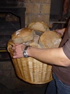 烘烤的面包