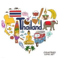 泰国国家元素图片