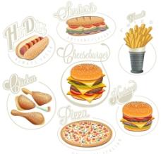 美味 快餐食品图片