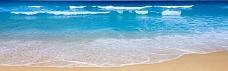 沙滩淘宝海报背景
