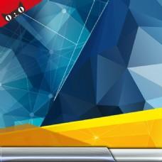 淘宝数码电子产品几何立体块直通车钻展背景