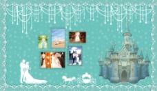 蒂芙尼兰城堡马车婚礼背景