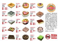 蛋糕宣传画册模板