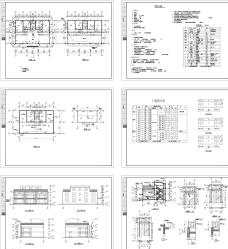 售楼部建筑CAD图纸图片