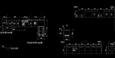 2套厨柜设计CAD图纸图片