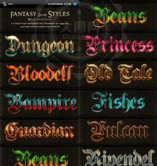 10款哥特风格的游戏字体样式