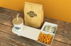 食品包装智能VI贴图图片