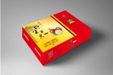 野生苹果冰糖心红色典雅包装盒