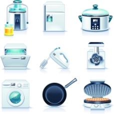 家电厨房矢量工具