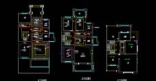 别墅CAD图图片
