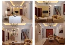 复式楼室内设计效果图图片