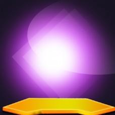 简约紫色模板