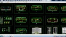 某高层办公楼全CAD设计施工图