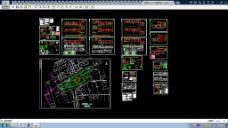 全套步行街建筑CAD施工图设计方案