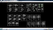 省级法院审判厅CAD设计施工图纸