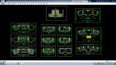 某市公安局建筑CAD施工图纸