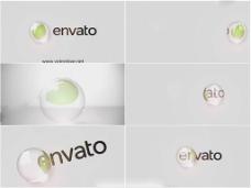 超精美水晶球滚动标志演绎AE源文件