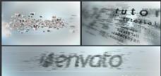 多图标与文字聚合Logo标志演绎