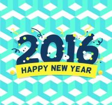 2016年清新蓝视觉背景