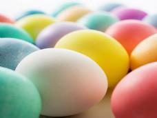彩色鸡蛋背景图