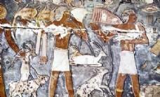 埃及壁画 世界名画_0004