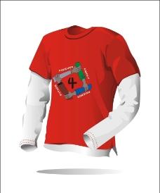 t恤烫画平面效果图图片