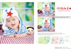宝宝相册模版素材下载
