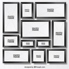 黑色摄影架收藏