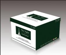 蛋糕盒包装设计效果图图片