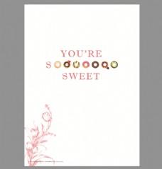 甜品 海报图片